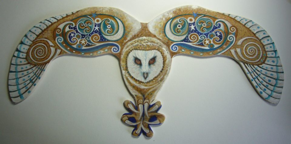 The Dance At Alder Cove Celtic Owl Sylvan Hare Arts Owl Animal