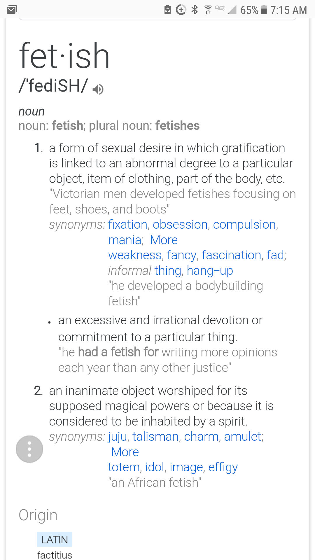 Sexually obsessed synonym