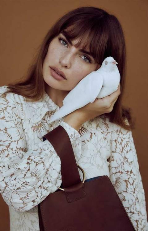 Alyssa Miller fashion model lookbook pilgrim