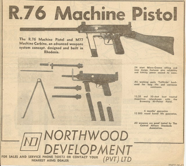 Historical Firearms Northwood R 76 The Northwood R 76