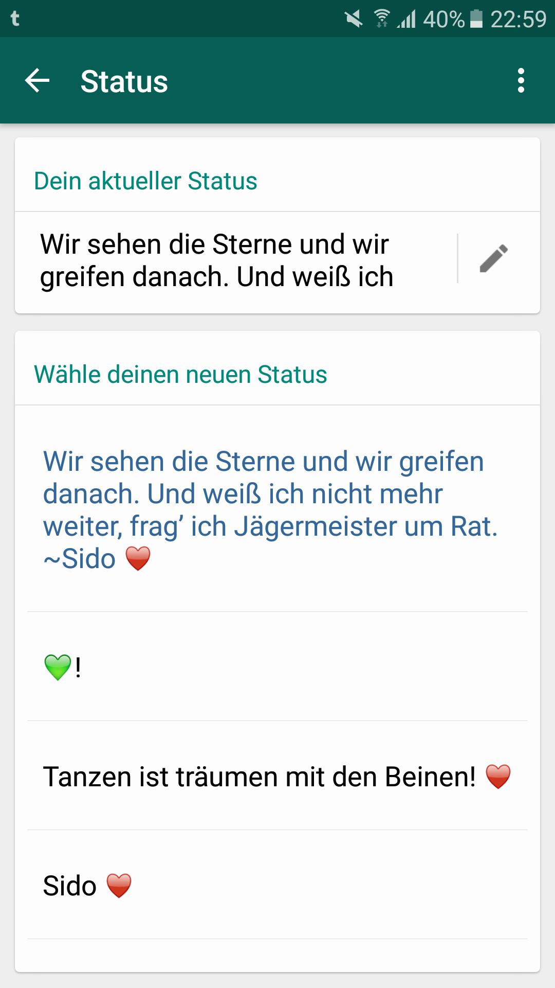 Whatsapp Status Sprüche Wir Sehen Die Sterne Und Wir