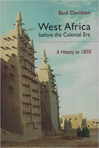 Book cover:  West Africa was the centre of the slave trade and most of the...