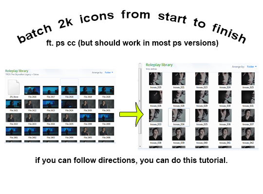 anyways , i hope this helps someone .because things get deleted / read mores get broken, here's a google doc walk thru .this took like my whole day so a like or reblog would be cool. i really hope it helps. send questions if you got them. - love, kore. this show you how to batch drop layers in a file. how to batch crop icons. how to batch color icons and edit individually EASILY. how to resize and export layers to files (2 methods) and how to sharpen icons and still re-edit everything later. #img /#dearindies#batch icons#rp tutorial#icon tutorial#mine