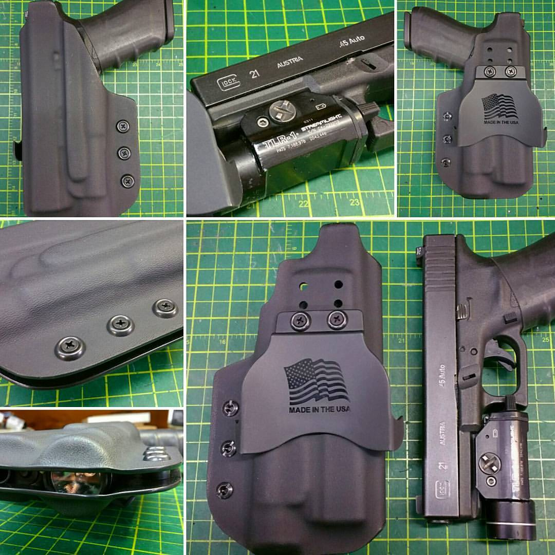 OWB Paddle Holster for a #Glock 20/21 w/a