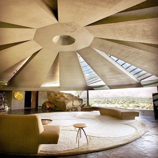 "JOHN LAUTNERs, Elrod House, Setting of the JAMES BOND Movie"" Diamonds are forever"" with SEAN CONN…"
