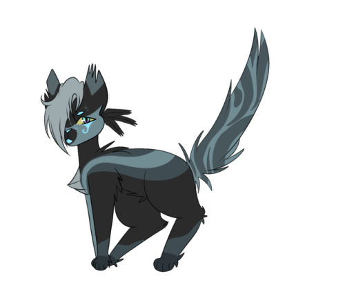 breezepelti like him after crowfeather's trail. edgy monster boy #breezepelt #warrior cats designs #windclan#warrior cats#wc designs#designs #anime warrior cats