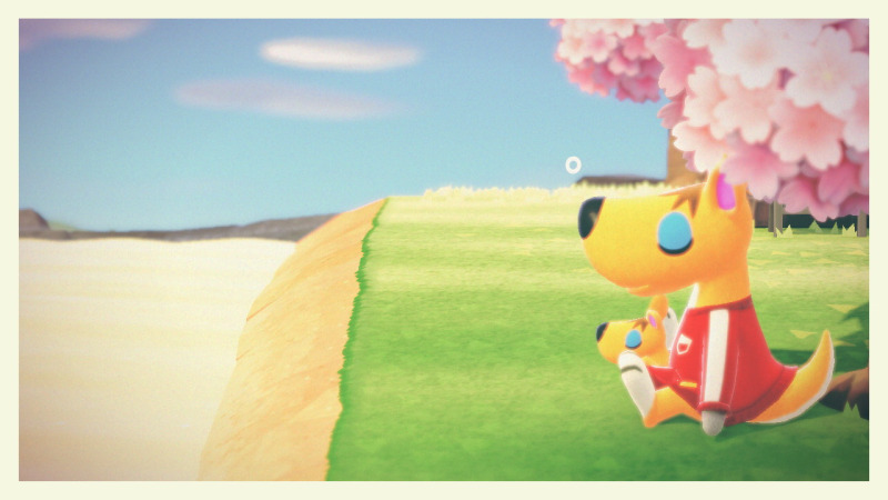 Put your workout gear on…to take a nap in the sunshine ❤️ #animal crossing#acnh#ac carrie#teacup island#queue