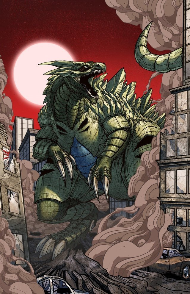 Pokemon Kaiju Posters made by Mike Vasquez