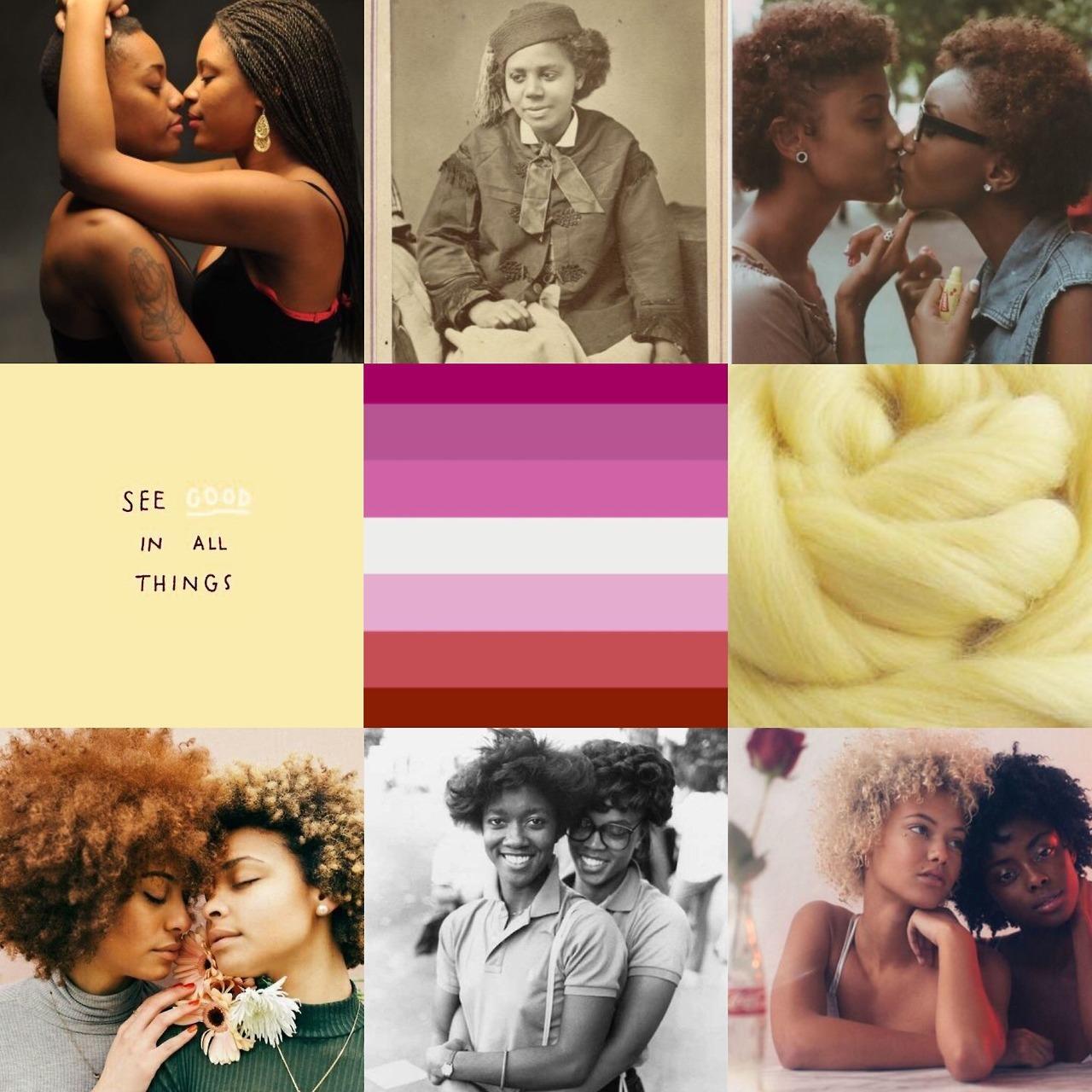 Black american lesbians