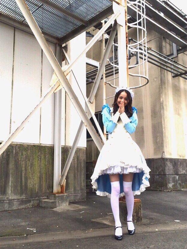 佐々木希のメイド服