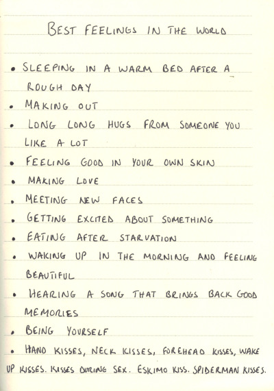 Best Feelings In The World Tumblr