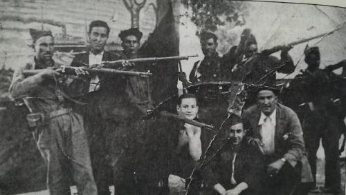 history black squad eirexalba galicia spain summer 1936