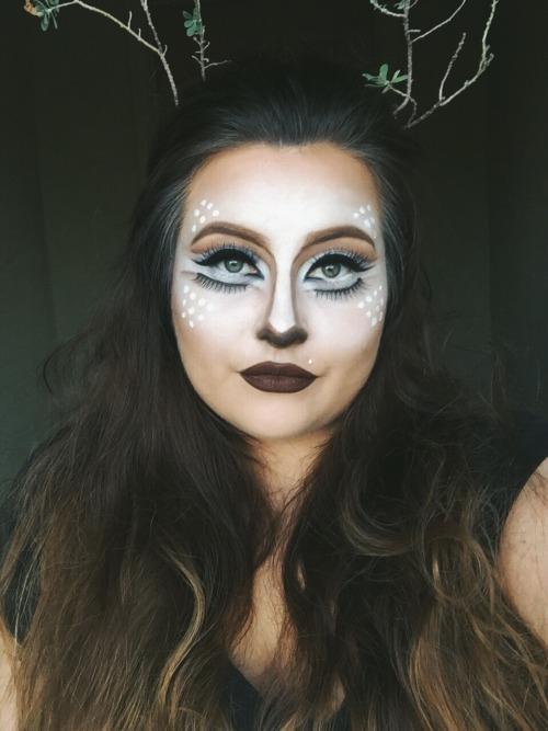bambi halloween makeup tumblr