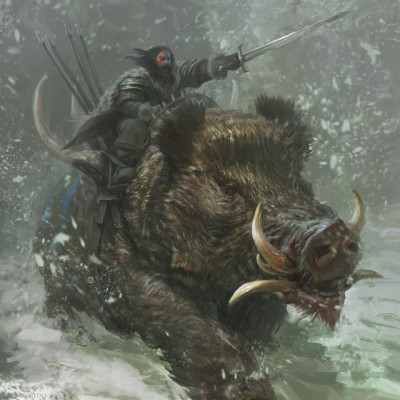 Giant Boar Tumblr