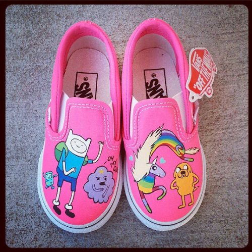 0d90a3417f WOMENS ADVENTURE TIME Shoes Finn and Jake Cartoon Vans Toms Any Canvas Shoe