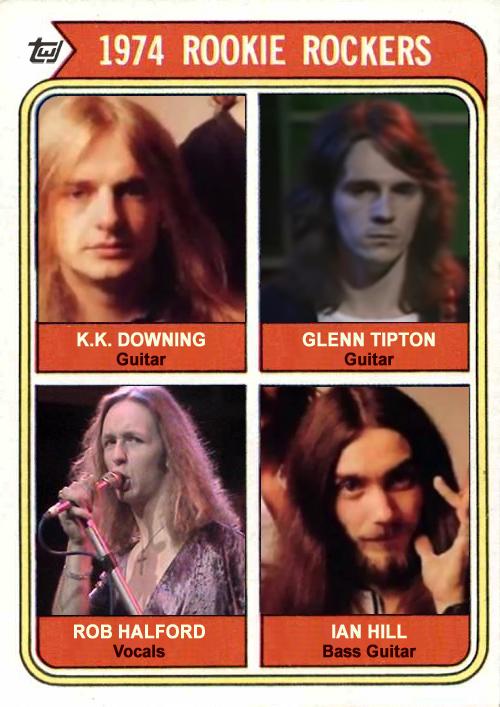 1974 Topps Judas Priest