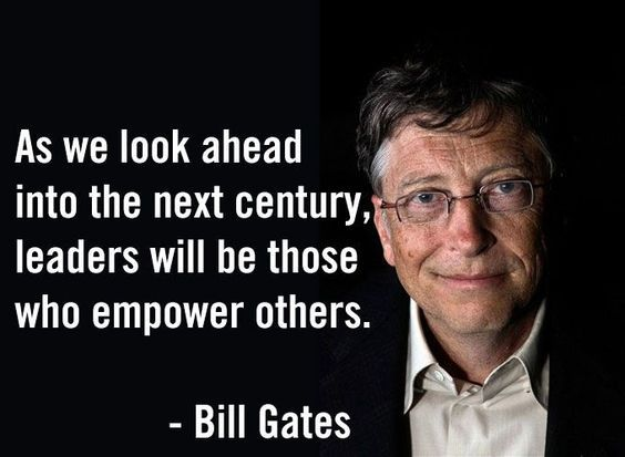 As we look ahead into the next century leaders will be those who empower others - Quotes