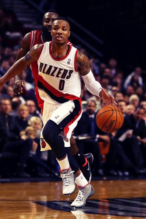 Damian Lillard Portland Trail Blazers Rip City nba basketball