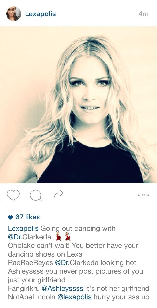 Clarke and lexa fake dating fanfiction