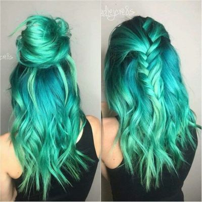 Turquoise Hair Color Tumblr