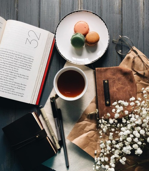 photography book macarons