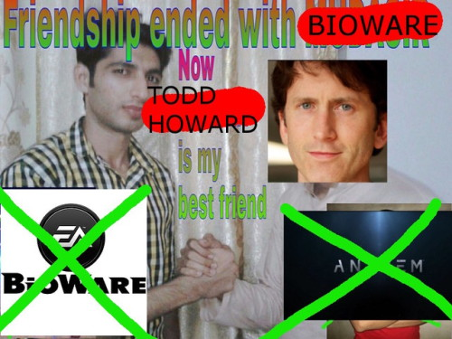 i said this to a friend and then i realized its comedy gold sorry ea and bioware but todd gave us te6 and whatever that star thing is starfield thats it RIP e3 2018