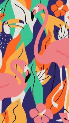 Pink Flamingo Wallpaper Tumblr