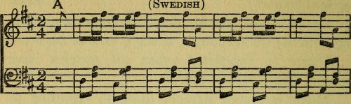 music swedish vintage sheet music