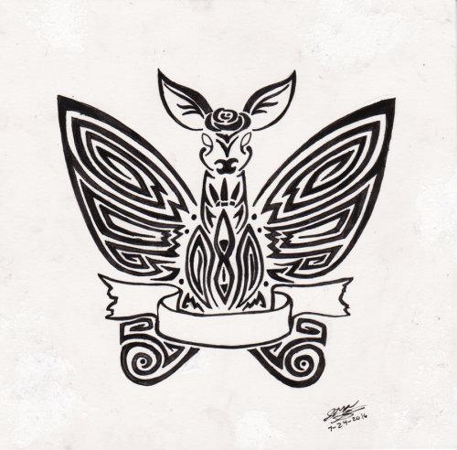 tribal design on Tumblr