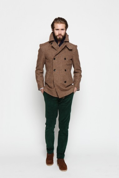 menswear mens style mens fashion ovadia and sons new york style tweed jacket green pants winter clothes winter jacket preppy fashion