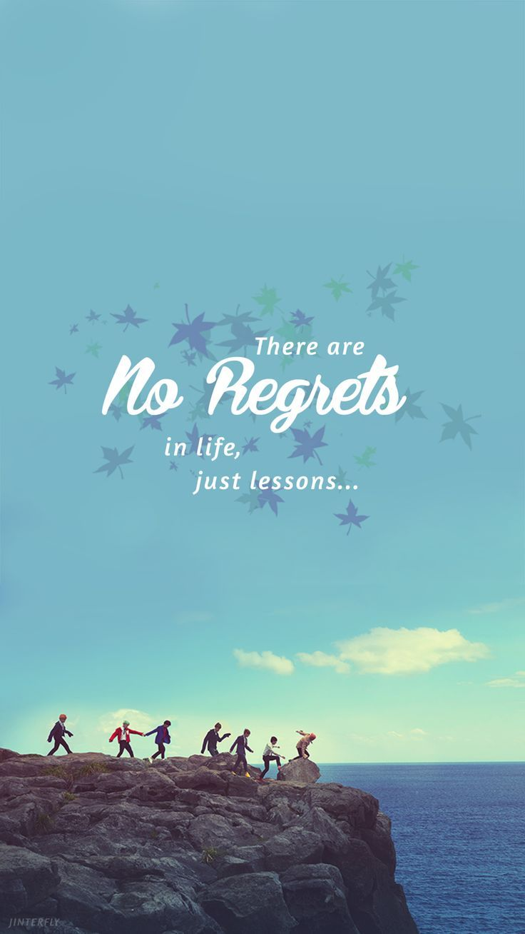 There are no regrets in life, just lessons? - Quotes