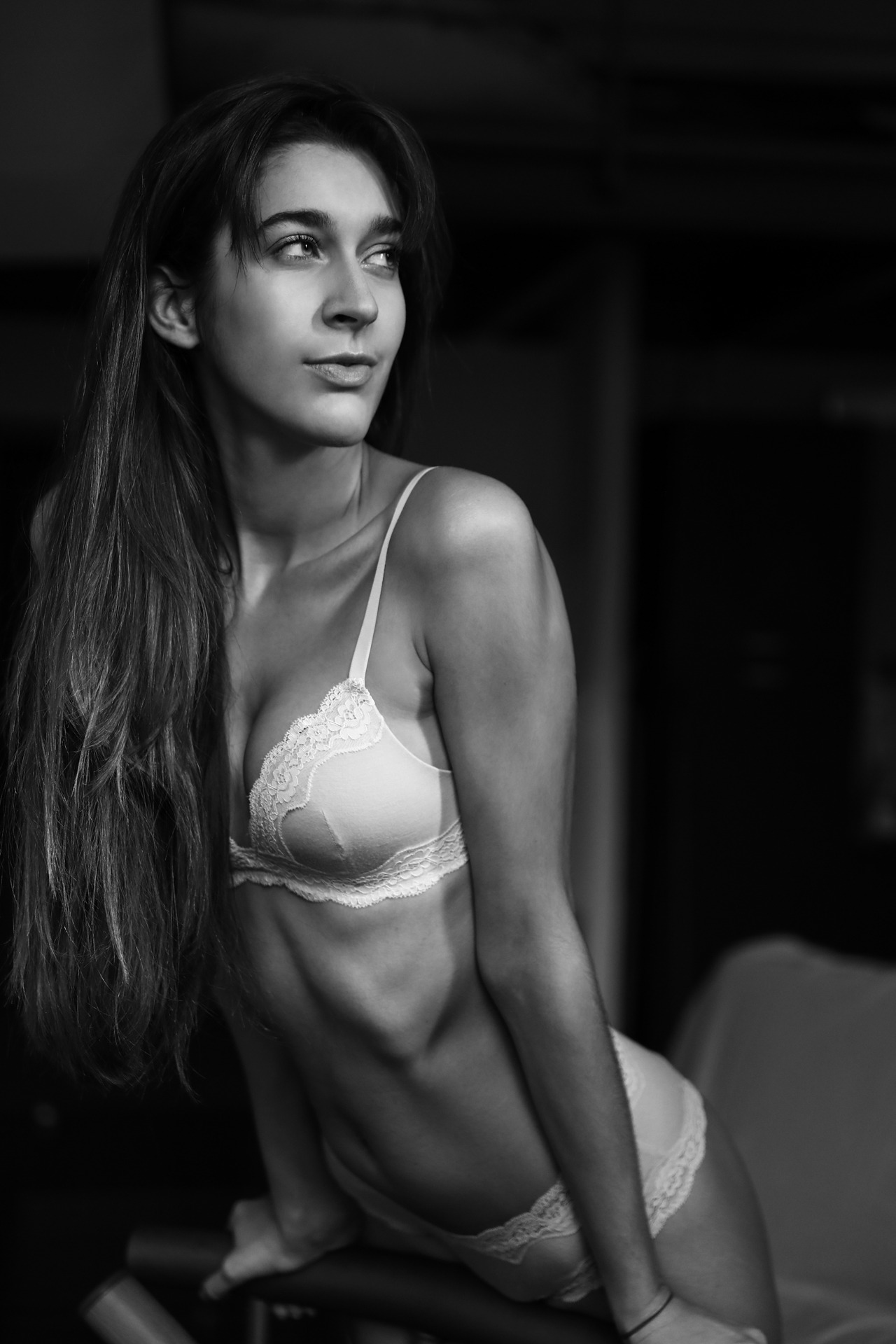 Laura by Oscar Pieri[[MORE]]A fantastic black and white series captured by the talented Milan, Italy based photographer, Oscar Pieri and starred by gorgeous model Laura Tosi...