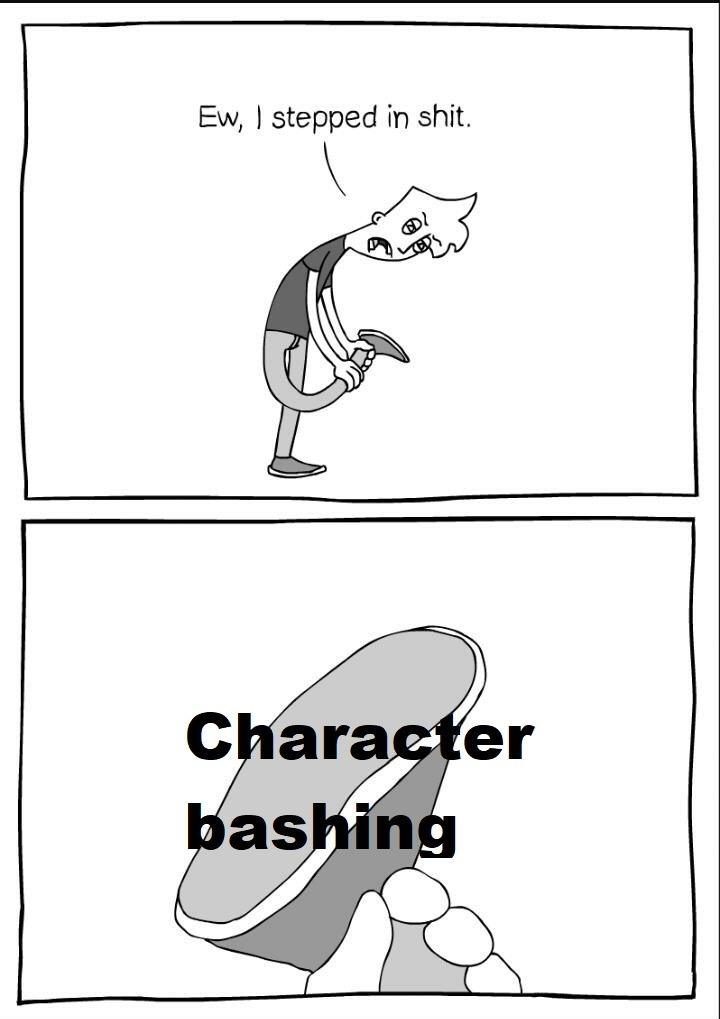 character bashing Tumblr posts - Tumbral com