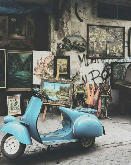 vespa art tumblr