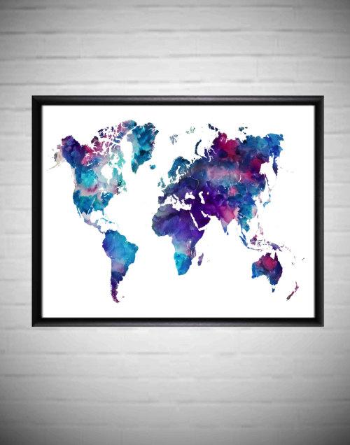 World Map Printable Tumblr
