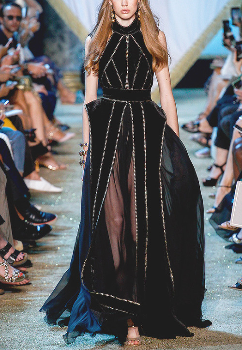 evermore-fashion:Favourite Designs: Elie Saab'A Tale of Fallen Kings' Fall 2017 Haute Couture Collection
