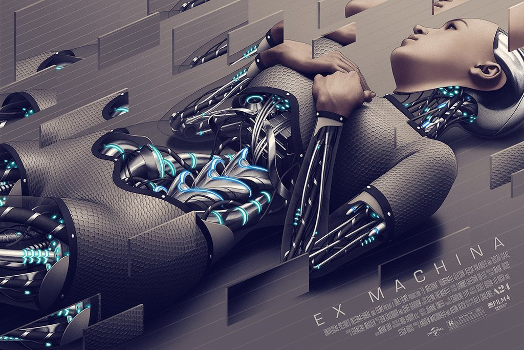 thepostermovement:  Ex Machina by Rory Kurtz