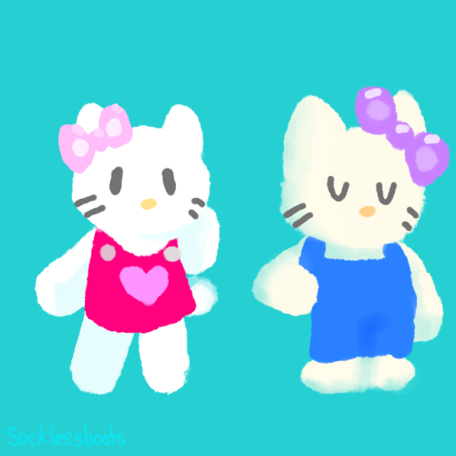 hello kitty mimmy white kitty white sanrio my art sai paint tool sai sanrio friends sanrio fanart transparent cat cats hello kitty fanart fanart digital art