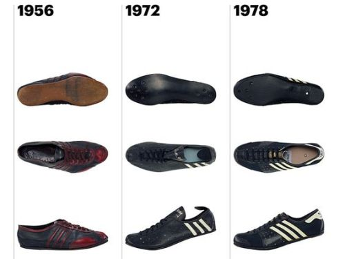 Ian Cleverly profile Adidas' forays into footwear including the shoes that Merckx wore on his world hour cycling record breaking