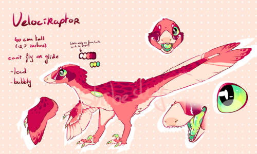 adoptable anthro velociraptor raptor furry furry art furries furry fandom paleo art my art dinosaurs