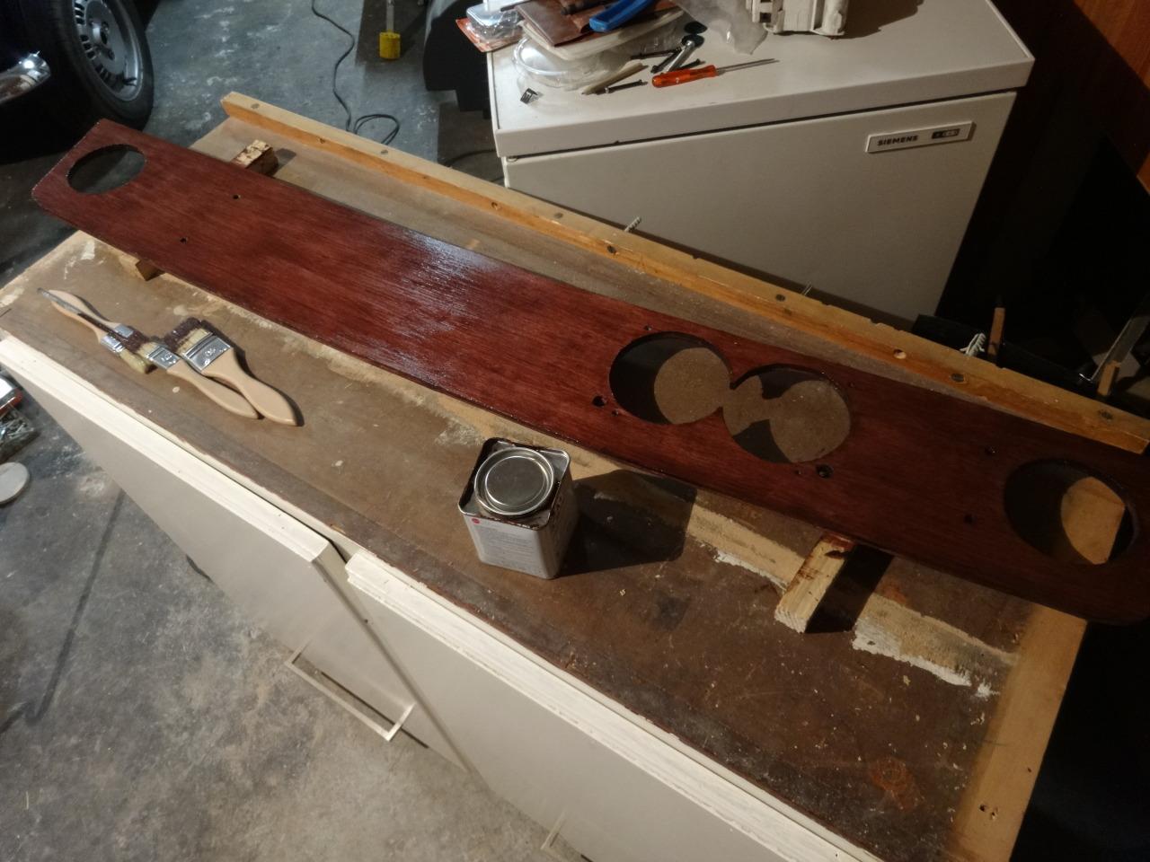 Restauration Austin Mini Construction Dun Tableau De Bord Style