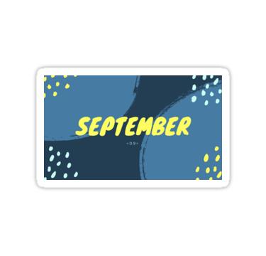 September :) https://ift.tt/2Q2r1l1 #september#bullet journals#stickers#studyspo#memes