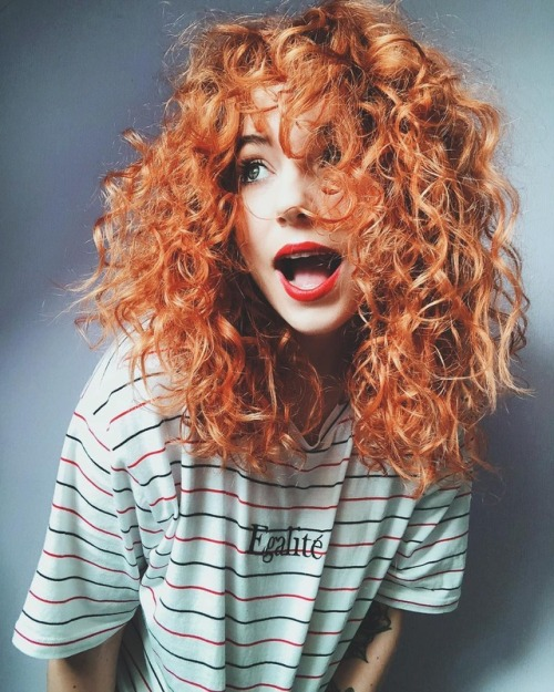 hair blog curls hair ginger ginger girl cute girl smile summer fashion blog