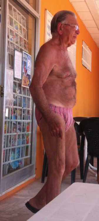 Naked Gay Grandpa 37