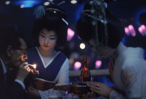 eliot elisofon nightclub geisha tokyo nightlife 60s