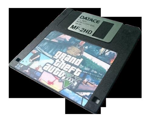 transparent png gta v Floppy disk my edit