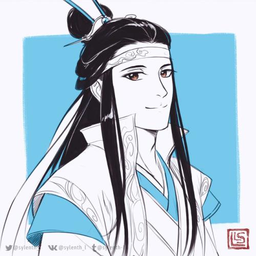 KO-FI comissions #1 #my art#sketch#ko-fi#comissions #mo dao zu shi #魔道祖师#mdzs #tian guan ci fu #tgcf#lan xichen#nie mingjue#wei wuxian#xie lian#hua cheng#天官赐福