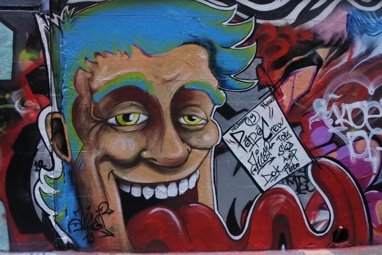 #street art#hosier lane#Melbourne