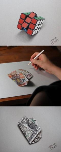 3d pencil drawings | Tumblr