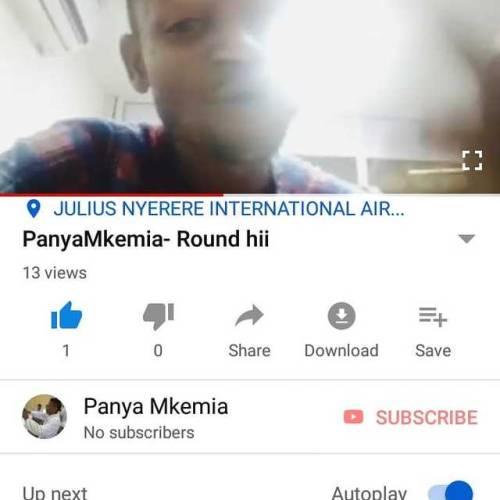 Subscribe to my #youtube channel #PanyaMkemia  Subscribe View  Like    Ingia YouTube kusubscribe kwenye channel yetu PanyaMkemia 😂😂😂😂😂  Miye mtanga  Siye mMwanza Miye (at Dar es Salaam, Tanzania) https://www.instagram.com/faceoncliff/p/BwWeUKfludd/?utm_source=ig_tumblr_share&igshid=icx9wz4j45x3 #youtube#panyamkemia
